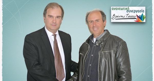 Yποψήφιος με την Ανανεωτική Συνεργασία ο Δημήτρης Ξενόπουλος